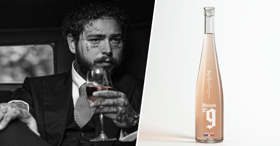 Post Malone Is Launching His Own Rosé and It Looks so Classy