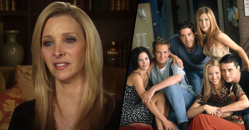 Fans Furious as 'Friends' Star Lisa Kudrow Defends 'All-White Cast'