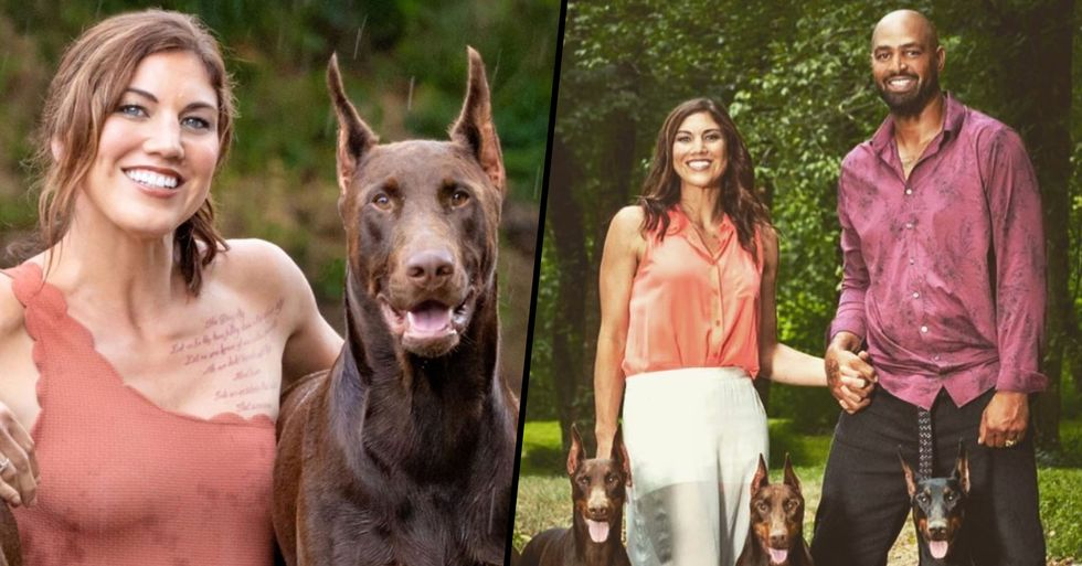 Hope Solo 'Brokenhearted' After Her Dog Dies From Shooting