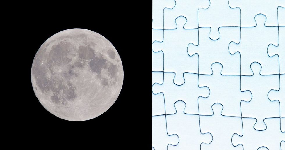 'Impossible' 1,000 Piece Moon Jigsaw is Driving People Crazy