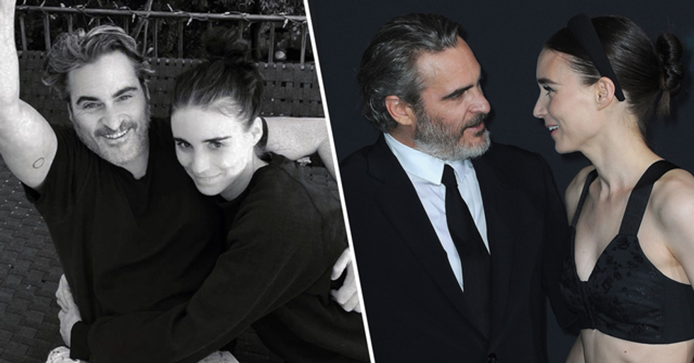 Joaquin Phoenix and Fiancée Rooney Mara Are Reportedly Expecting Their First Child