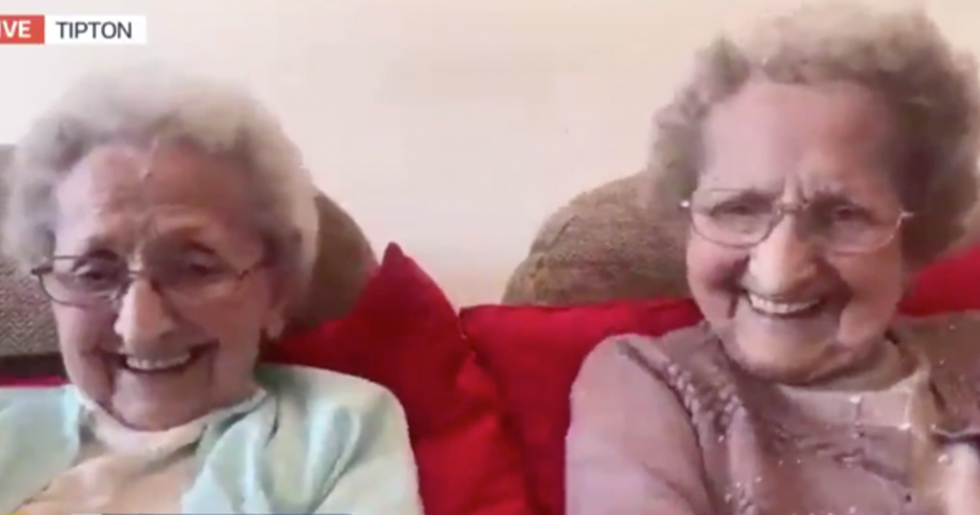 95-Year-Old Identical Twins Give Hilarious X-Rated Response When Asked Their Secret to a Long Life