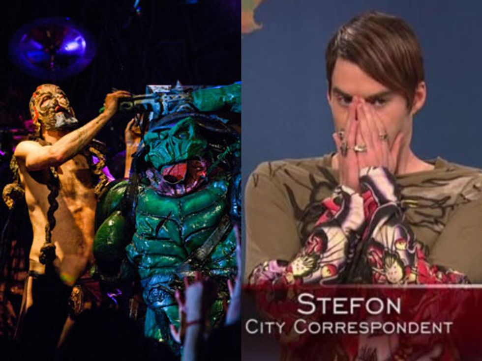 GWAR Come to Williamsburg + Stefon Explained in Today's Eight Items or Less