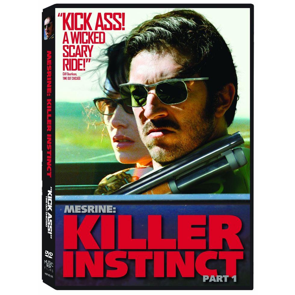 French Gangster Film Mesrine: Killer Instinct On Blu-ray and DVD