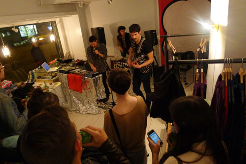 JF & SON Christens Its New Space With a Rock Concert