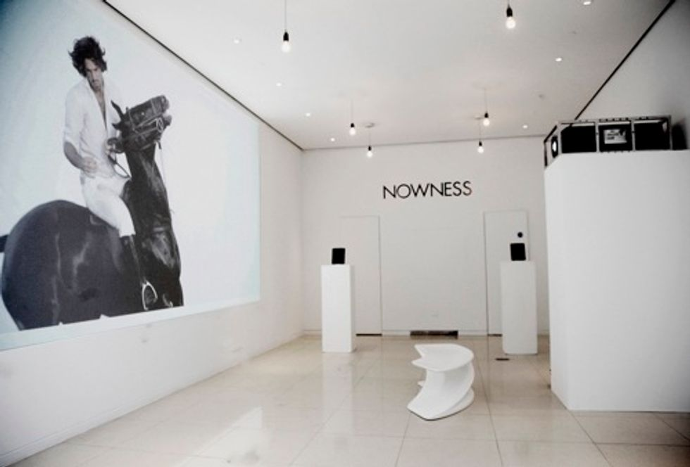 NOWNESS Sets Up at the St. Martins Lane Hotel For London Fashion Week