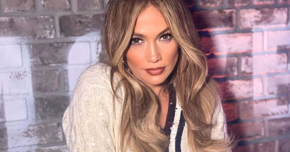 Fans Notice Creepy Guy in J-Lo's Latest Instagram Pic and Freak out