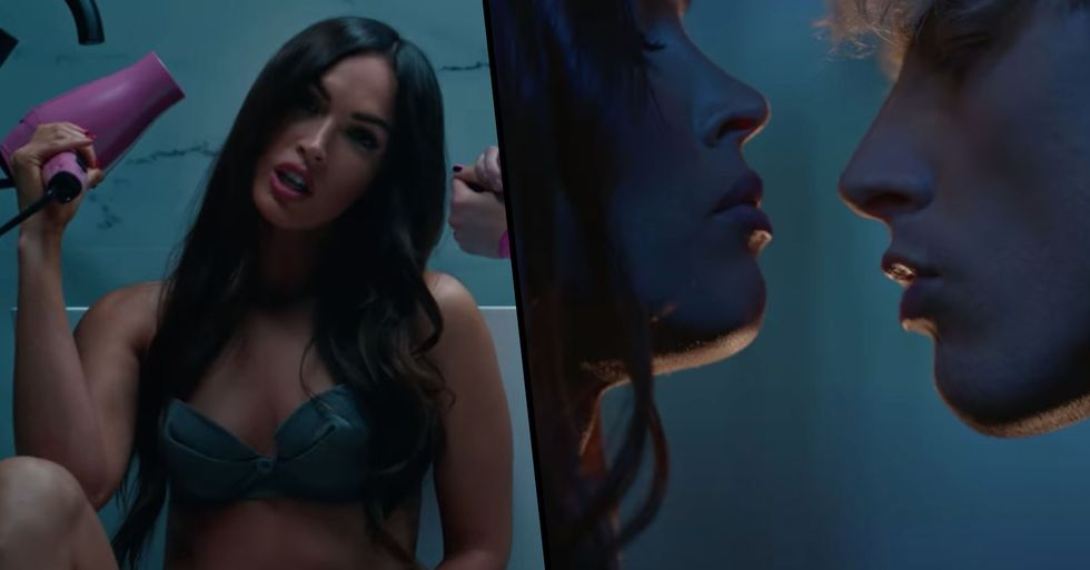 Megan Fox Appears in Machine Gun Kelly's Steamy New Music Video Amid Romance Rumors