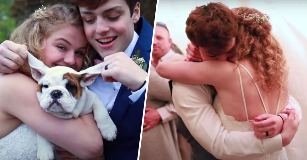 High School Senior With Rare Cancer Marries Girlfriend After He's Given 3-5 Months to Live