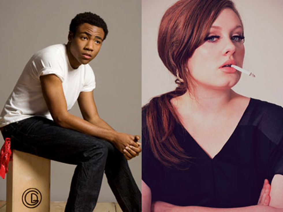Donald Glover's IAmDonald Tour + Adele's Number One In Today's Eight Items or Less