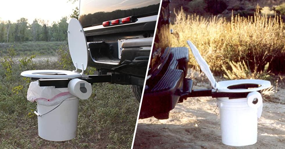 You Need This Bumper Dumper Portable Toilet for Your Next Road Trip