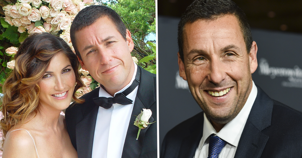 Pictures of Adam Sandler Buying Tampons for the Women in His Life Spark Unexpected Backlash