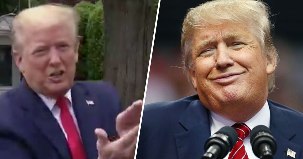 Donald Trump Confuses Reporters Saying He Tested Positively for Coronavirus, but Meant Negative