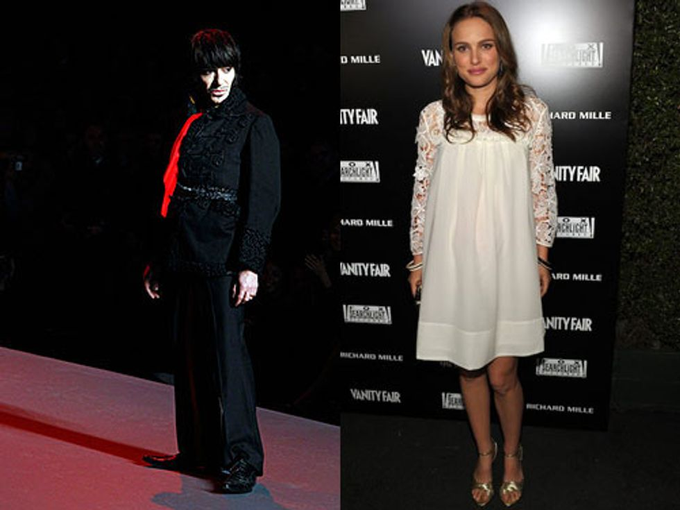 More Accusations Against Galliano + Natalie Portman's $50 Oscars After-Party Dress in Today's Style Scraps
