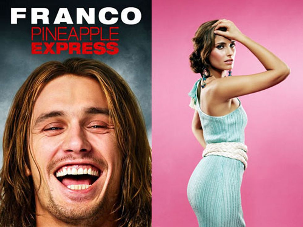 James Franco Looking Stoned + Nelly Furtado Donates Gadhafi Money in Today's Eight Items or Less