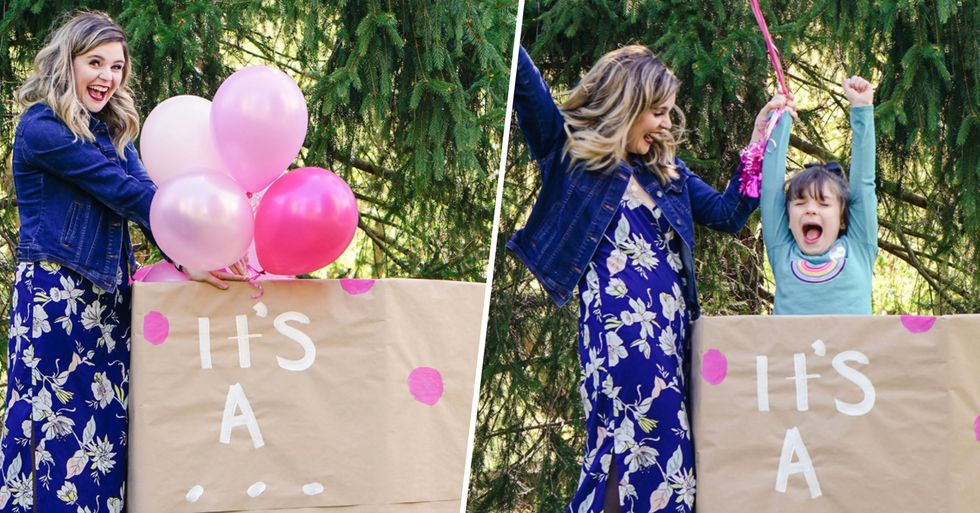 Mom Throws Gender Reveal for 6-Year-Old Trans Daughter