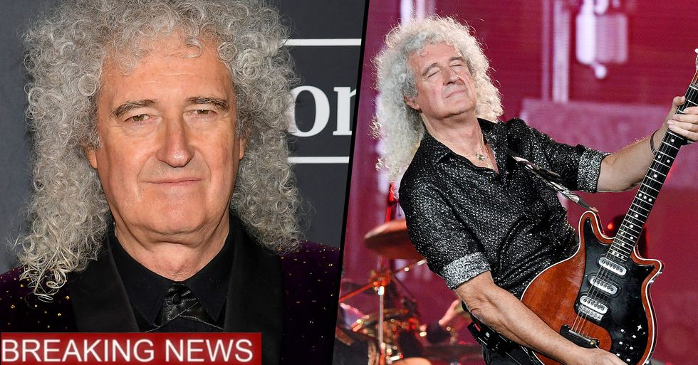 Brian May Rushed to Hospital After Suffering Heart Attack