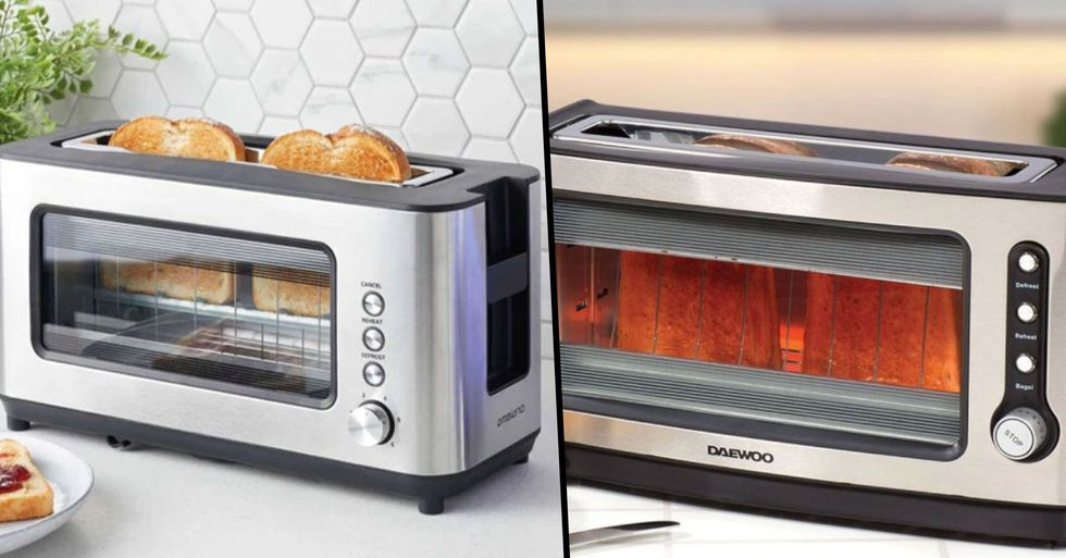 Someone Created a See Through Toaster So You'll Never Burn Toast Again