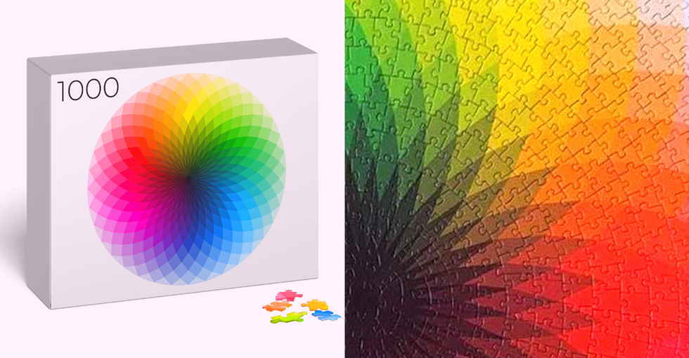 1,000 Piece Color Wheel Jigsaw Called 'Most Beautiful in the World'