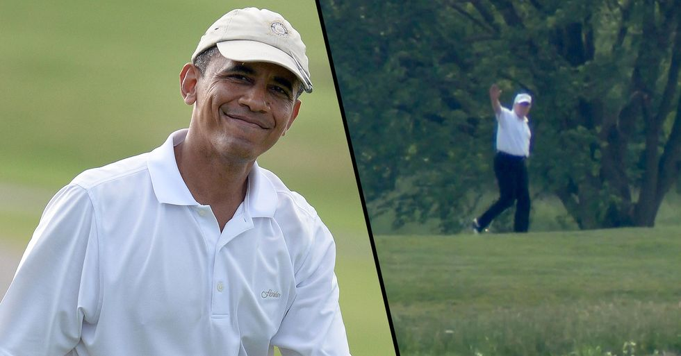 Trump's Tweets Attacking Obama for Golfing During Ebola Outbreak That Killed 2 in the US Resurface