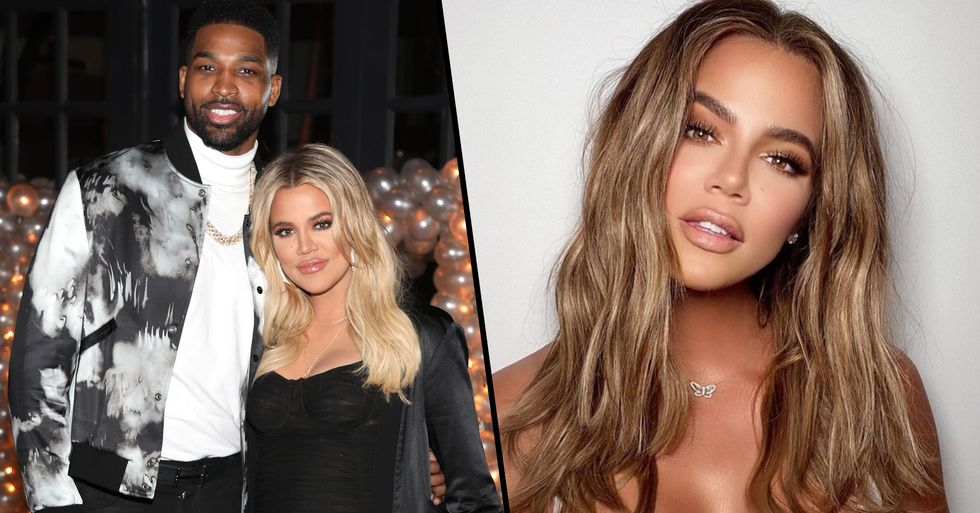 Tristan Thompson Just Left the Thirstiest Comment on Ex Khloé Kardashian's Latest Insta Pic