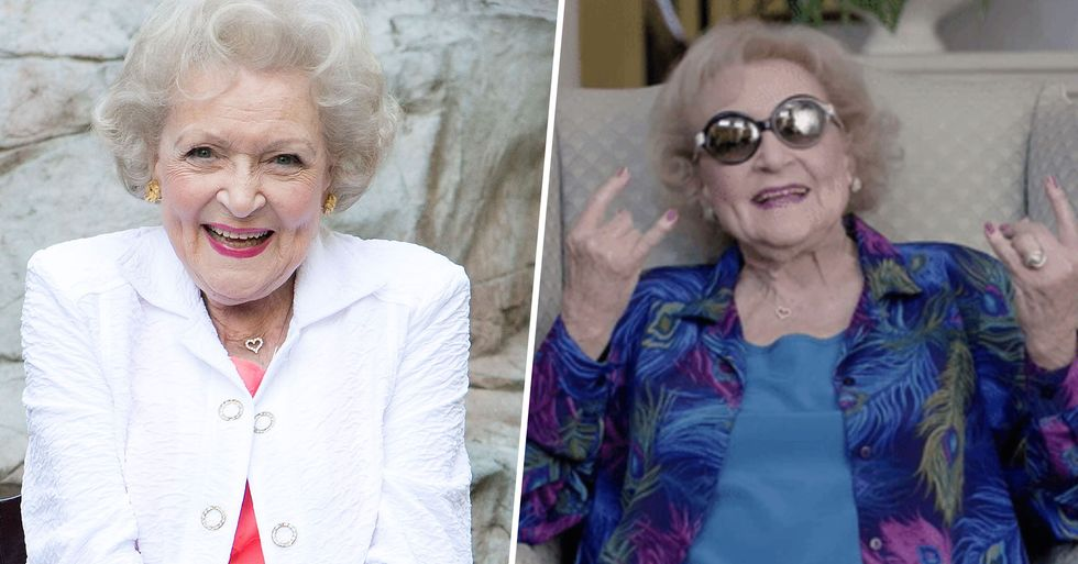 Betty White Wants Everyone to Know She's Doing Well in Quarantine