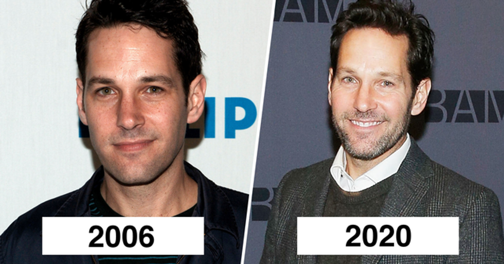 1.Paul Rudd is currently 52 years old but still looks as young as in his 20s (2006 v 2020).