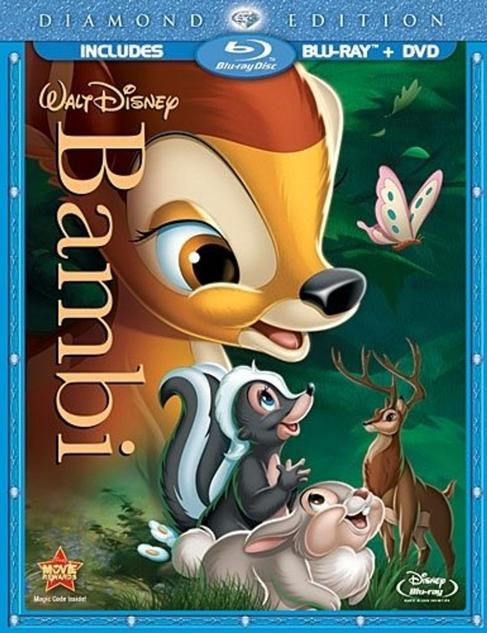 Bambi On Blu-ray and DVD Combo