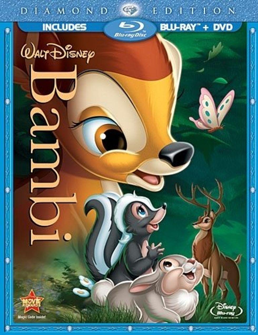 Bambi On Blu-ray and DVD Combo