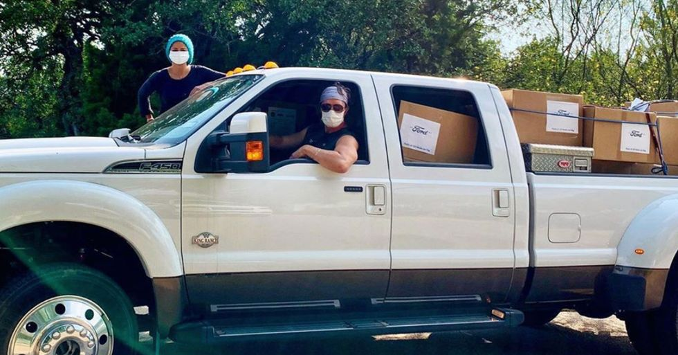 Matthew McConaughey and Wife Camila Deliver 110,000 Masks to 'Rural Hospitals in Need' in Texas