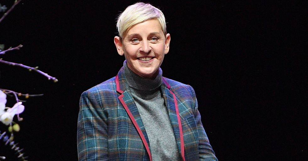 Ellen DeGeneres Slammed for Wearing Hoodie That Supposedly Mocks Child With Mutilated Face