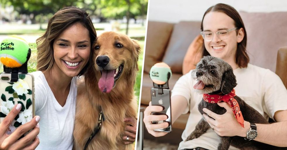 Pooch Selfie Phone Accessory Let's You Get the Perfect Snap With Your Dog