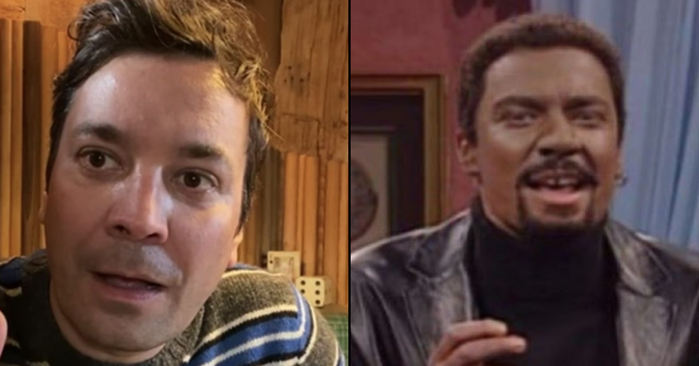 Jimmy Fallon Responds After Blackface Sketch from 2000 Resurfaces