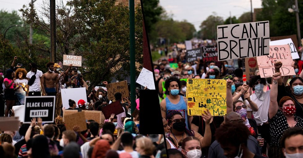 Thousands of Protesters Take to the Streets Demanding Justice for George Floyd