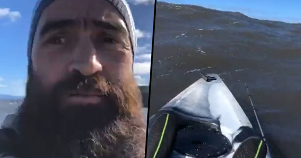 Kayaker Records Final Moments in Chilling Live Video Before Drowning