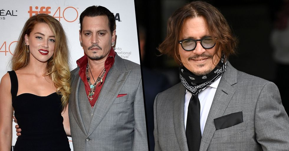 Johnny Depp Shares 'Disgusting' Photo That Led to Amber Heard Divorce