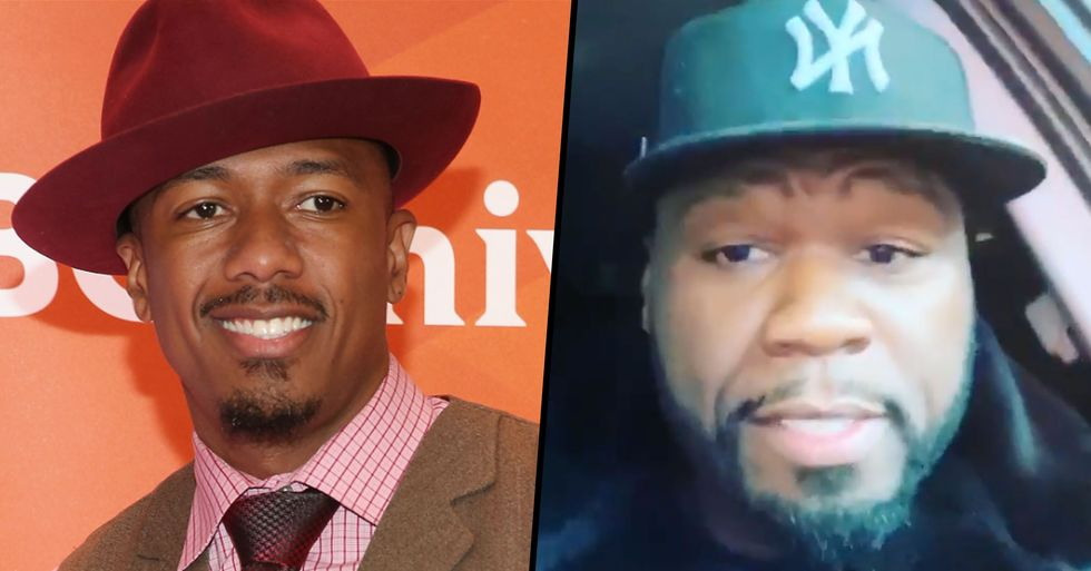 50 Cent Trolls Nick Cannon for Being Fired Over Anti-Semitic Remarks