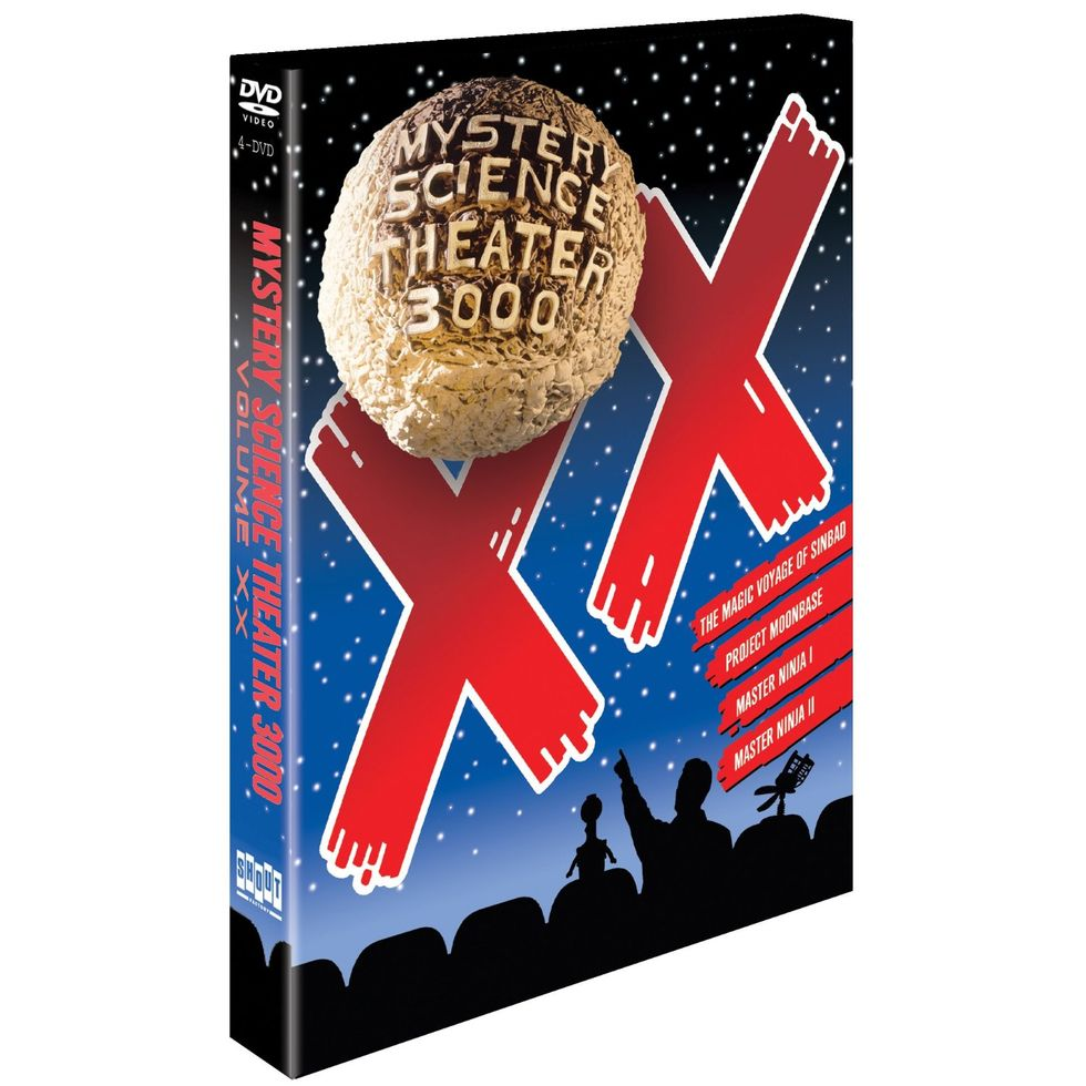 The Enduringly Hilarious Mystery Science Theater 3000 Volume XX On DVD