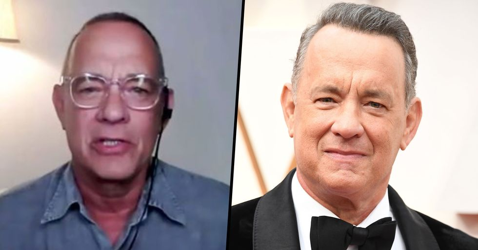 Tom Hanks Questions the Patriotism of People Who Refuse to Wear Masks