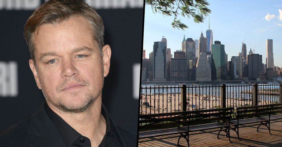 Matt Damon Closes Entire Brooklyn Heights Block to Move Into New Penthouse
