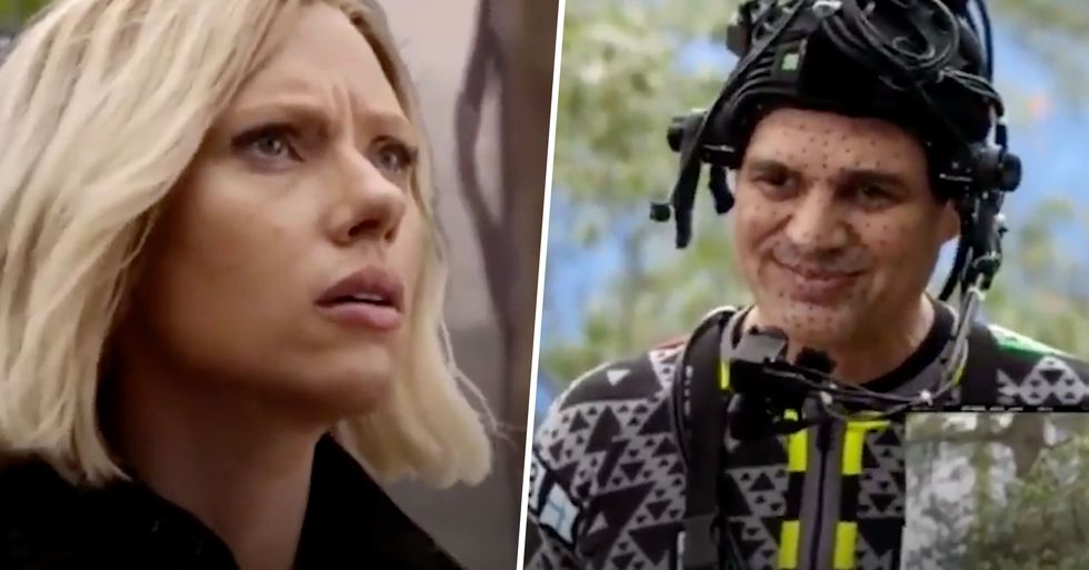 Marvel Fans Furious That Deleted Hulk and Black Widow Scene Wasn't Included in 'Infinity War'