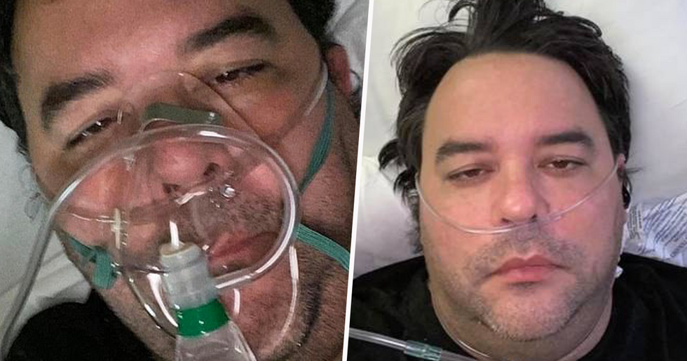 Dad With Coronavirus Fighting for his Life After Son Went out With Friends With No Mask