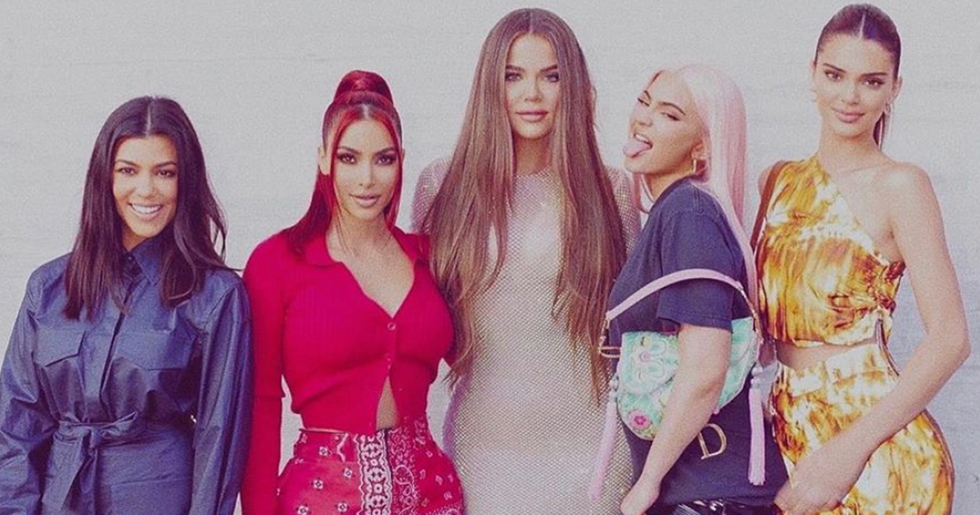Kardashian-Jenner Sisters Share Family Picture but all Anyone Can Talk About is Saint