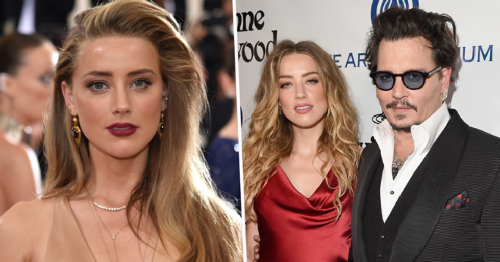 New Picture Shows Amber Heard's Face After Johnny Depp 'Threw Phone at Her' During Argument