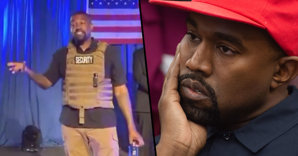 Kanye West Claims Harriet Tubman 'Never Actually Freed Slaves' During Debut Rally