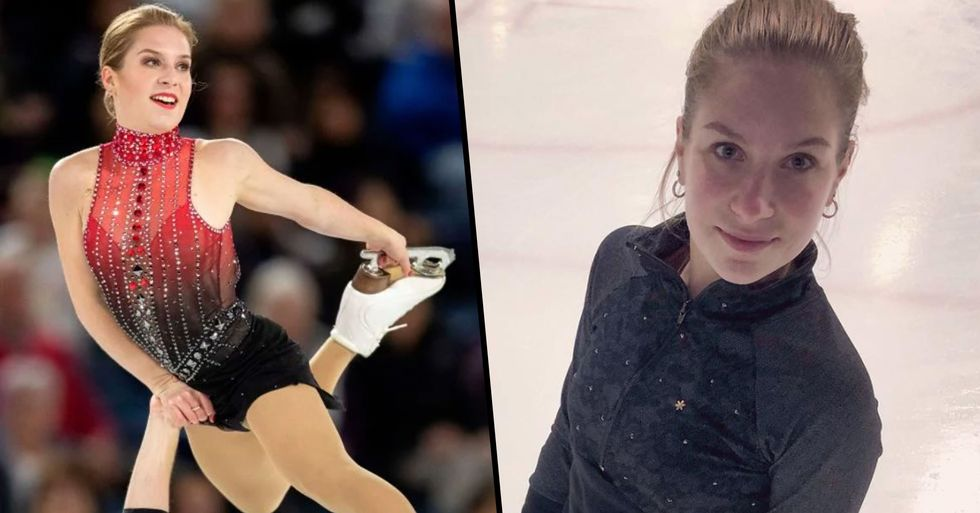 Olympic Figure Skater Ekaterina Alexandrovskaya Dies Aged 20