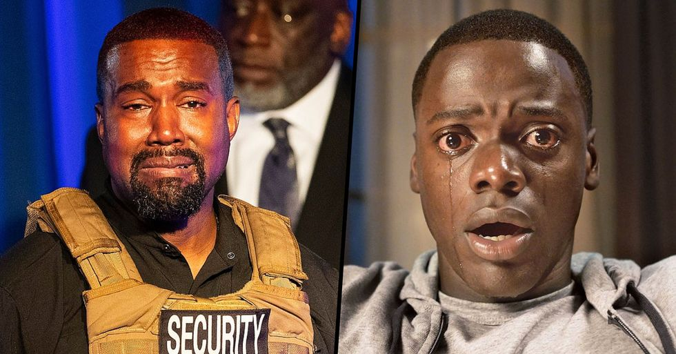 Kayne West Claims 'Get Out' Movie Was 'About Me' in Bizzare Now-Deleted Twitter Rant