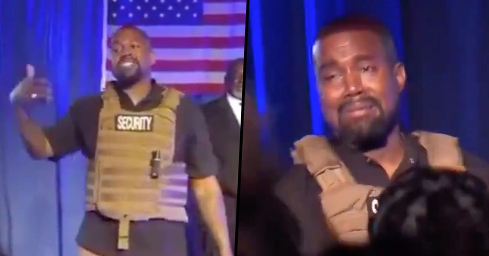 'Everybody That Has a Baby Gets a Million Dollars', Says Kanye West at First Campaign Rally