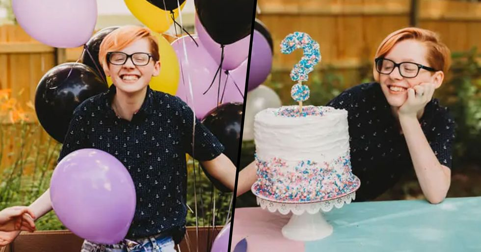 Mom Organizes Gender Reveal Party for 17-Year-Old Transgender Son