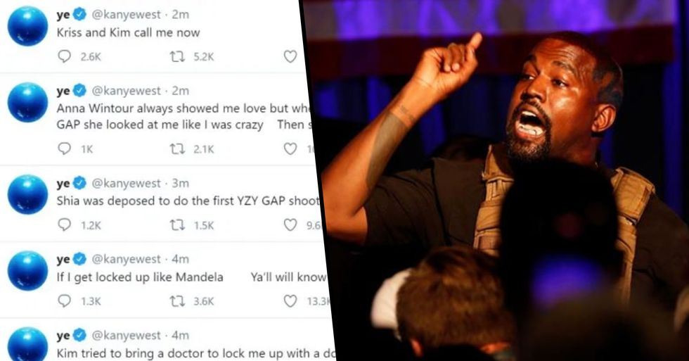 Kanye West Deletes Worrying Twitter Rant After Backlash From First Rally